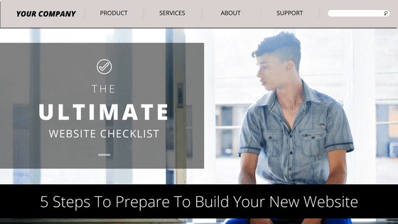 Download the New Website Checklist Now!